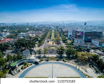 Jawa barat images stock photos vectors shutterstock bandung west java indonesia july 7 2018 aerial view of gasibu thecheapjerseys Image collections