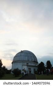 Bandung, West Java/Indonesia: July, 1st 2019: (Observatorium Bosscha) Bosscha Observatory in Lembang