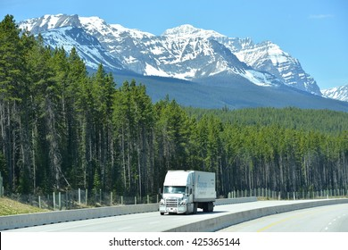 BANFF, AB- MAY 16: Banff town and Lifestyle on May 16, 2016 in Banff, AB . Banff is one of the most visited towns in the West Canada
