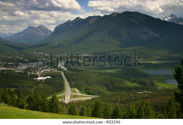 Banff, Canada View