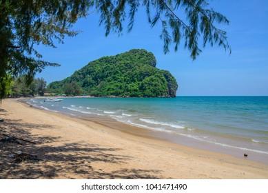 Bang birt Beach Chumphon  Thailand