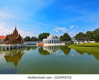 """Bang Pa In Royal Place In Thailand : """" Architecture Thailand  Ayuthaya , Thailand."""
