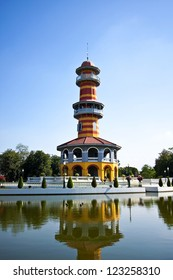 Bang Pa-In Palace in Ayutthaya Province, Thailand
