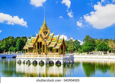 Bang Pa-In Palace, Ayutthaya, Thailand.