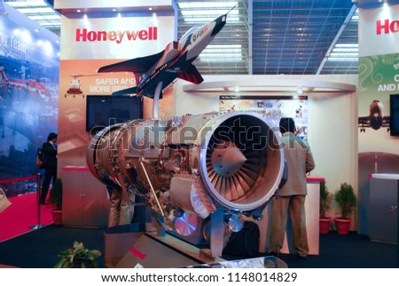 Bangalore India 02112011 Turbine Super Jet Stock Photo (Edit Now