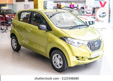 Bangalore, India, June 03, 2018, Bengaluru city, Datsun redi-Go is entry-level crossover produced by Datsun, initially intended for Indian market