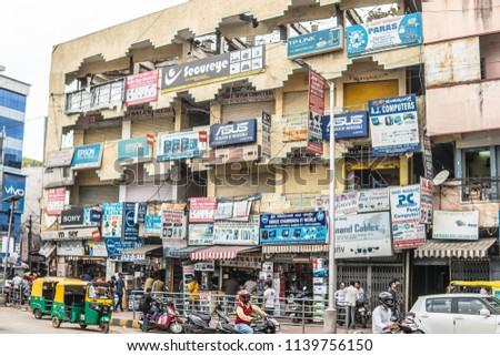 11120457cb98 Stock fotografie na téma Bangalore India June 03 2018 Bengaluru (k ...