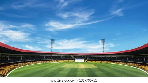 Bangalore, India, March 27, 2019.M Chinnaswamy Stadium on March 27 2019, Bangalore, India