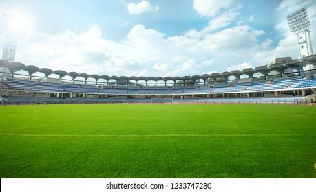Bangalore, Karnataka / India-June 18 2018: chinnaswamy stadium, Cubbon Rd