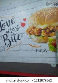 Bangalore, Karnataka/India-October 25 2018: Fiver star chick Stall of Non Veg and Veg Food