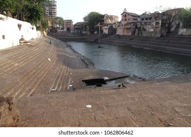 Banganga or Banganga Tank is an ancient water tank situated in walkeshwar Malabar Hill area of Mumbai. India