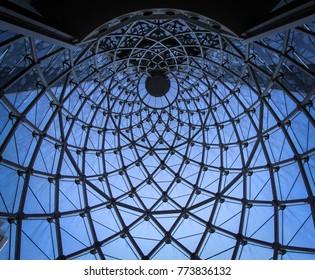 Bangkok abstract ceiling