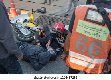 Bangkok - Bang Sue 20 Subdued 2018 Motorcycle accident Car Business Security Insurance in Thailand