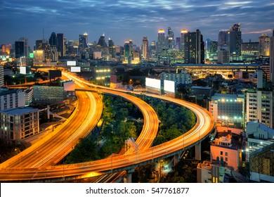Bangkok city in the center of Thailand