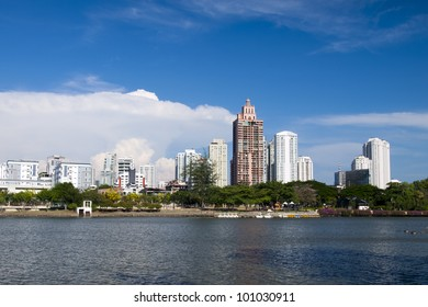Bangkok city downtown ,Thailand