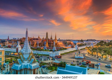 Bangkok city Temple of the Emerald Buddha Bangkok, Asia Thailand