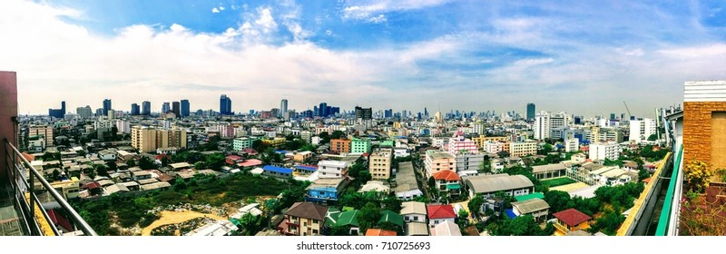 Bangkok city view, skyline