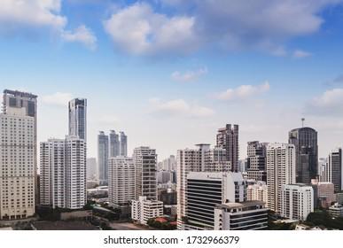 Stadtarchitektur Bangkok