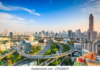Bangkok cityscape bangkok city of Thailand