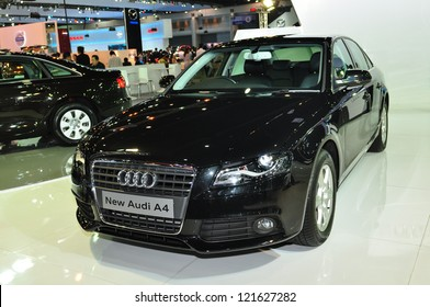 BANGKOK - DEC 3: Audi A6 on display at the Thailand International Motor Expo at Impact Muang Thong Thani on Dec 3, 2012 in Bangkok, Thailand.