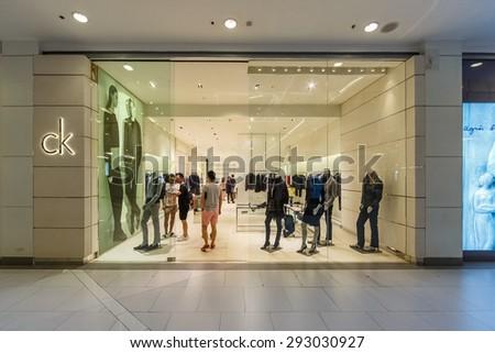 c18bffd4a BANGKOK DEC 5 Calvin Klein Shop Stock Photo (Edit Now) 293030927 ...