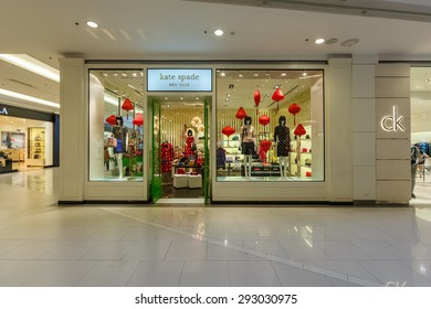 BANGKOK - DEC 5: Kate spade shop at Central World on Dec 5, 2014 in Bangkok. Central World is a shopping plaza and complex which is the sixth largest shopping complex in the world.