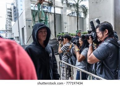 BANGKOK - December 09 : Riku 'The Outsider' Shibuya of Japan in One Championship 'Warrior of The World' on December 09, 2017 at Impact Arena, Muang Thong Thani, Bangkok, Thailand