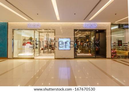 d5ba0a6bc979 BANGKOK DECEMBER 5 Coach Shop Siam Stock Photo (Edit Now) 167670530 ...
