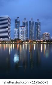 Bangkok evening.
