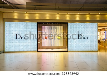 a0605424d39 BANGKOK FEB 19 Dior Shop Suvanabhumi Stock Photo (Edit Now ...