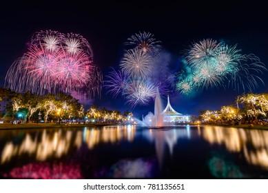 Bangkok fireworks festival