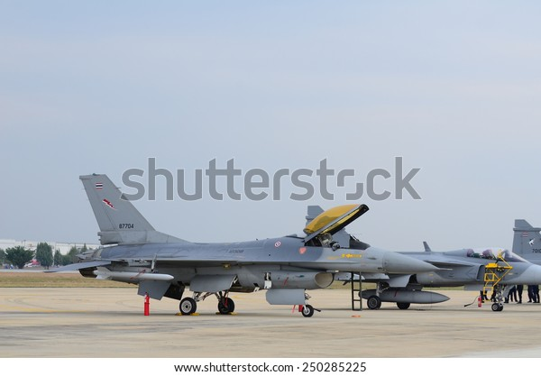 Bangkok January 10 Jas 39 Gripen Stock Photo (Edit Now