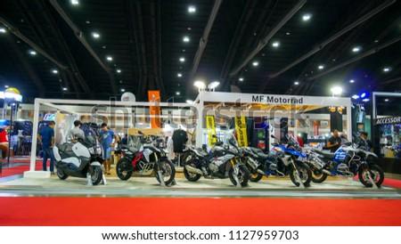 BANGKOK JULY 5 BMW Modified Motorcycle Stock Photo (Edit Now