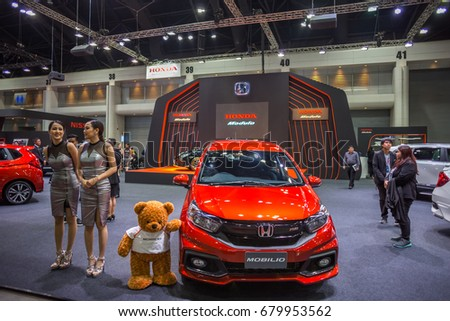 Bangkok July 5 Honda Mobilio Car Stock Photo Edit Now 679953562