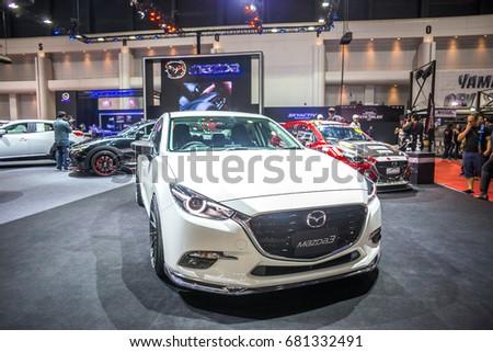 Bangkok July 5 Mazda 3 Modified Stock Photo Edit Now 681332491