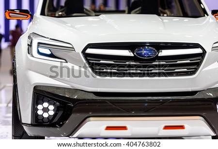 Bangkok March 22 Subaru Viziv Future Stock Photo Edit Now