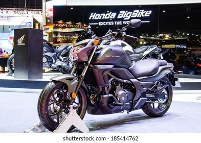 BANGKOK - MARCH 25 : Honda CTX 700 N  motorbike on display at The 35th Bangkok International Motor Show on March 25, 2014 in Bangkok, Thailand.