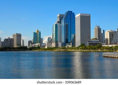 BANGKOK - May 19 2015 Bangkok city in Thailand