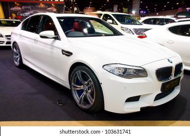 BANGKOK - MAY 20: BMW M3 a at the Super Car   Import Car Show at Impact Muang Thong Thani on May 20, 2012 in Bangkok, Thailand