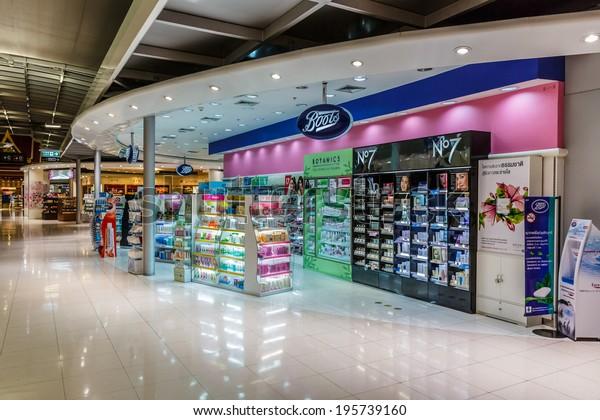 best website 032e2 82302 Bangkok May 4 Boots Shop Suvanaphumi Stock Photo (Edit Now ...