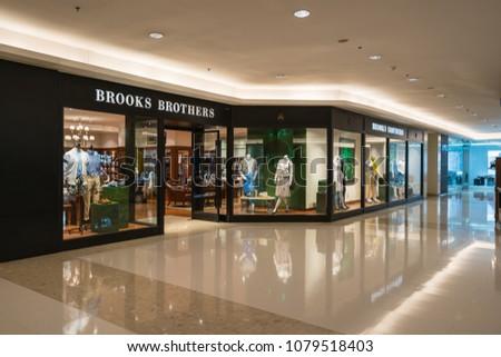 dc784bd94da1c BANGKOK- MAY 5   Brooks Brothers store in Gaysorn Village on May 5
