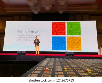 Bangkok, Nov 18. At Microsoft Future Now AI for Thais event, Participants is to experience a breakthrough solutions using Microsoft AI to transforming the world as we know it. This is open event.