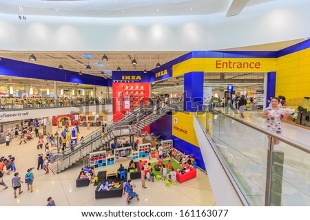 Bangkok October 23 Front Shop Ikea Stock Photo Edit Now 161163077