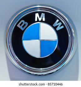 BANGKOK - SEPTEMBER 25: a logo of BMW on display at BMW XPO 2011 on September 25, 2011 at Siam Paragon in Bangkok.