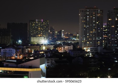 Bangkok Thailand 07-Mar-2017 : The beautiful views of Bangkok Thailand at night