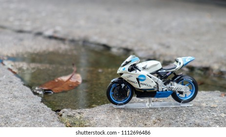 bangkok thailand 14-06-2018,model motercycle honda rc211v collection