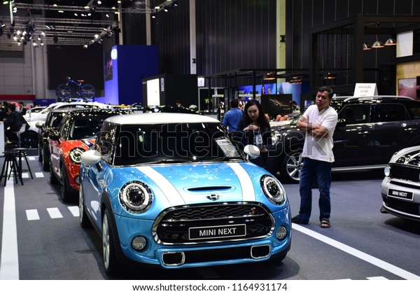 Bangkok Thailand 25 Mini Cooper Booth Stock Photo (Edit Now) 1164931174