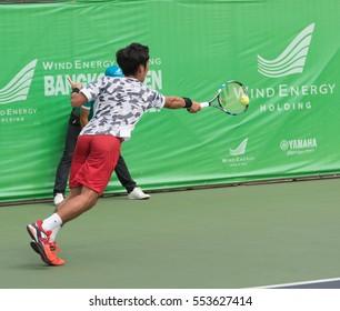 BANGKOK THAILAND -31 December2016-14 January 2017 ATP TOUR WIND ENERGY HOLIDING Bangkok Open 2017