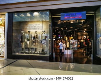 Bangkok, Thailand 3/9/2019 What are the customers walking in at the CPS CHAPS store? What are the brands of JASPAL? CPS CHAPS. JASPAL or Yaspal is a Thai company of the Sing Sajjathet family, founded