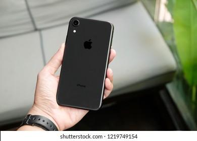 BANGKOK THAILAND : Apple launch new smartphone iPhone XR on October 20 ,2018 bangkok ,thailand